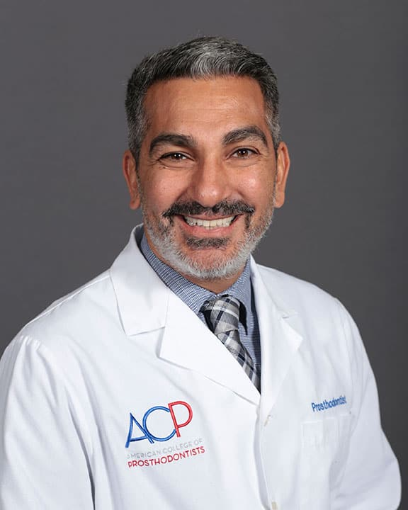 Dr. Mamaly Reshad American College of Prosthodontics